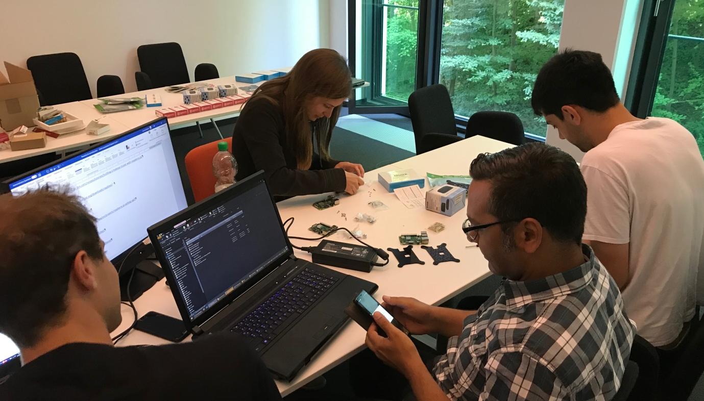gmc² Vorbereitung zum Hackathon auf der TDWI 2019