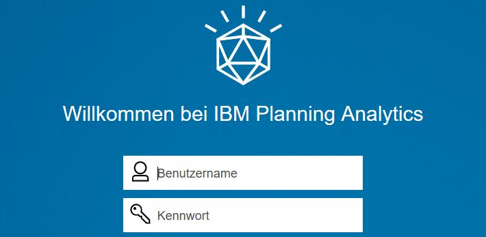 Planning Analytics Login